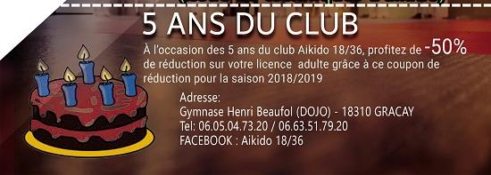 GRACAY - septembre 2018 - Reprise des cours du club d'Aïkido */ 09-07_10