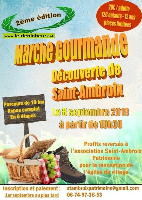 u08 - DIM 08 septembre - ST-AMBROIX - Marche gourmande * 09-08_40