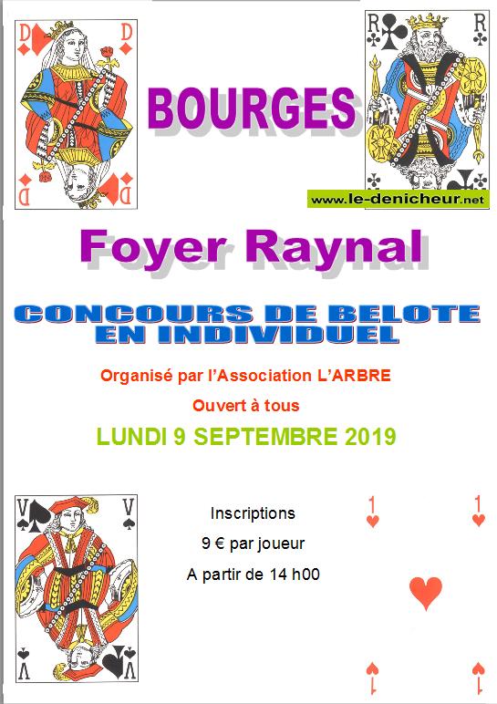 u09 - LUN 09 septembre - BOURGES - Concours de belote */ 09-09_27