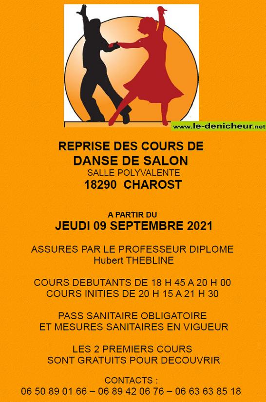 c - CHAROST - Reprise des cours de danse de salon */ 09-09_28