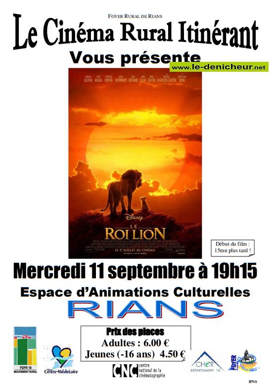 u11 - MER 11 septembre - RIANS - Le Roi Lion (cinéma rural itinérant) 09-11_11