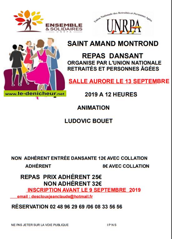 u13 - VEN 13 septembre - ST-AMAND-MONTROND - Repas dansant avec Ludovic Bouet */ 09-13_10