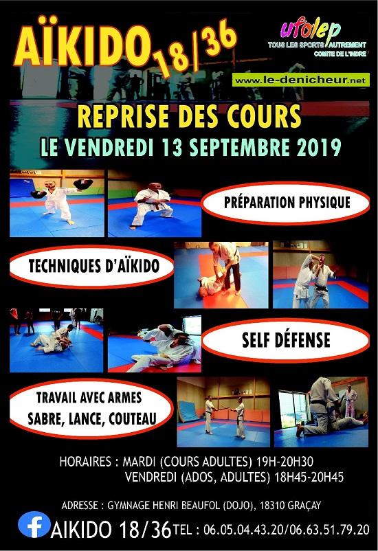 u27 - VEN 27 septembre - GRACAY - Cours d'Aïkido *** 09-13_14