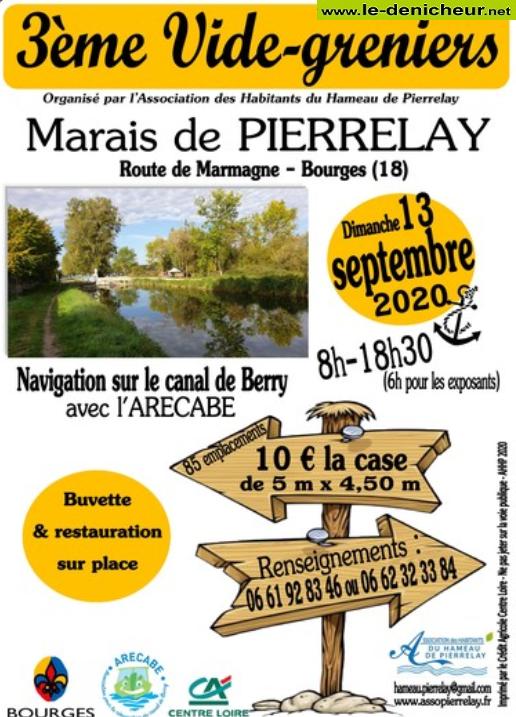 i13 - DIM 13 septembre - BOURGES - Brocante des Marais de Pierrelay * 09-13_15