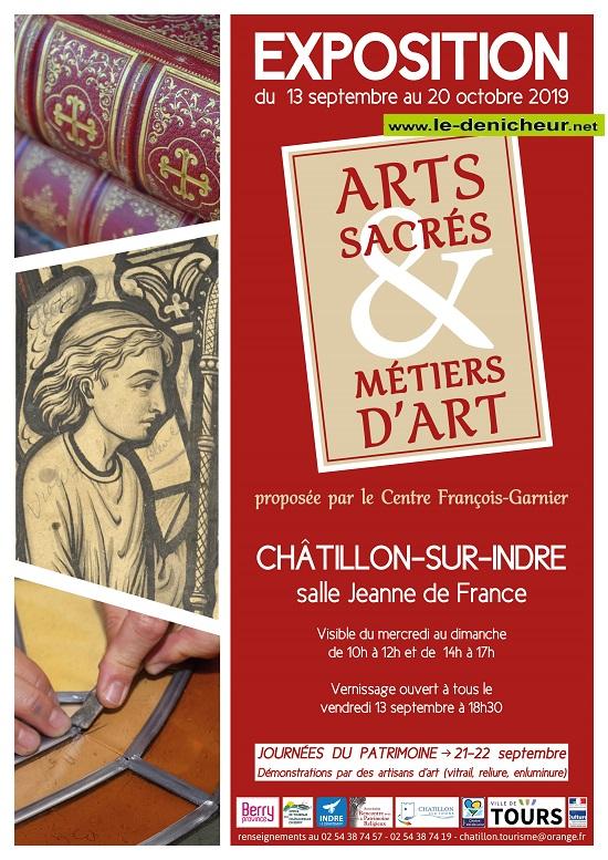 v20 - Jusqu'au 20 octobre - CHATILLON /Indre - Exposition Arts Sacrés & Métiers d'Art  09-13_17