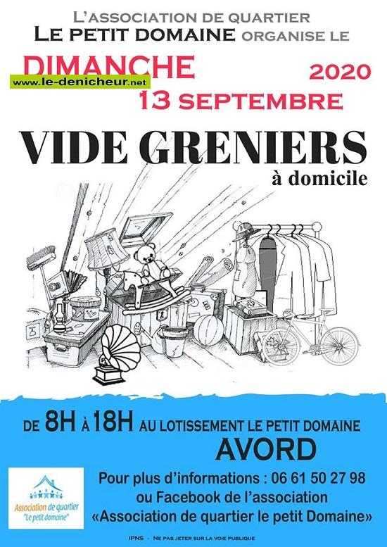 i13 - DIM 13 septembre - AVORD - Vide greniers à domicile * 09-13_21