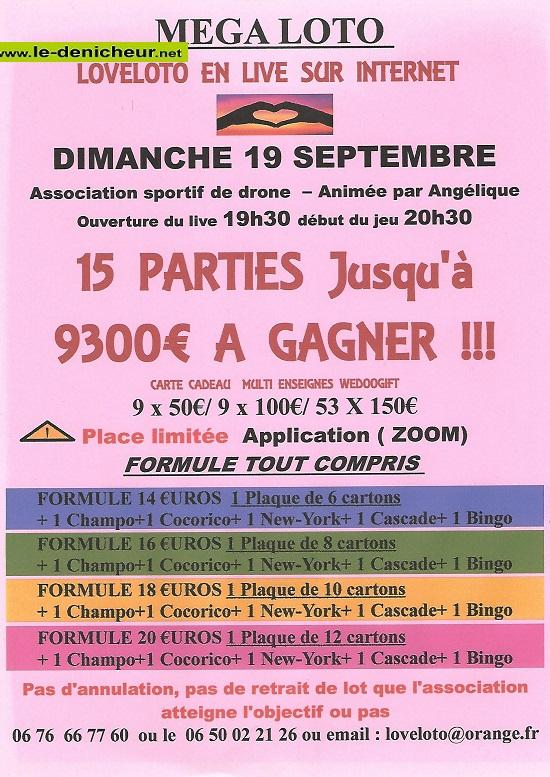 u19  - DIM 19 septembre - LOTO LIVE SUR INTERNET 09-19_20