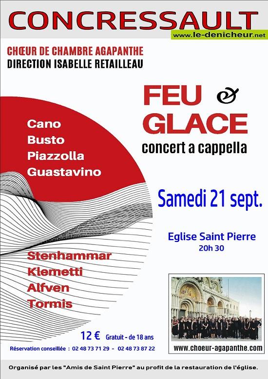 """u21 - SAM 21 septembre - CONCRESSAULT - Choeur de chambre """"Agapanthe"""" .*/ 09-21_21"""