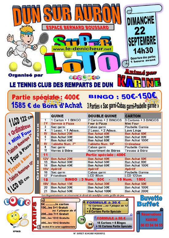 u22 - DIM 22 septembre - DUN /Auron - Loto du club de tennis */ 09-22_28