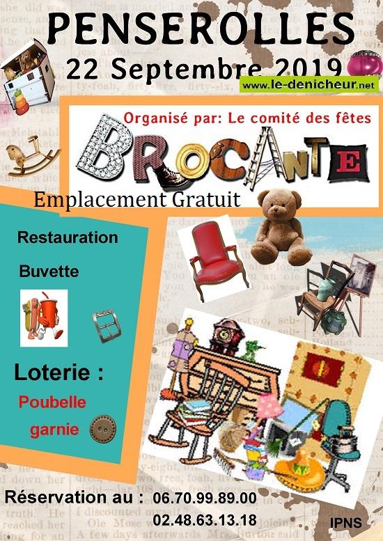 u22 - DIM 22 septembre - PENSEROLLES - Brocante du Comité des fêtes de St-Vitte */ 09-22_30