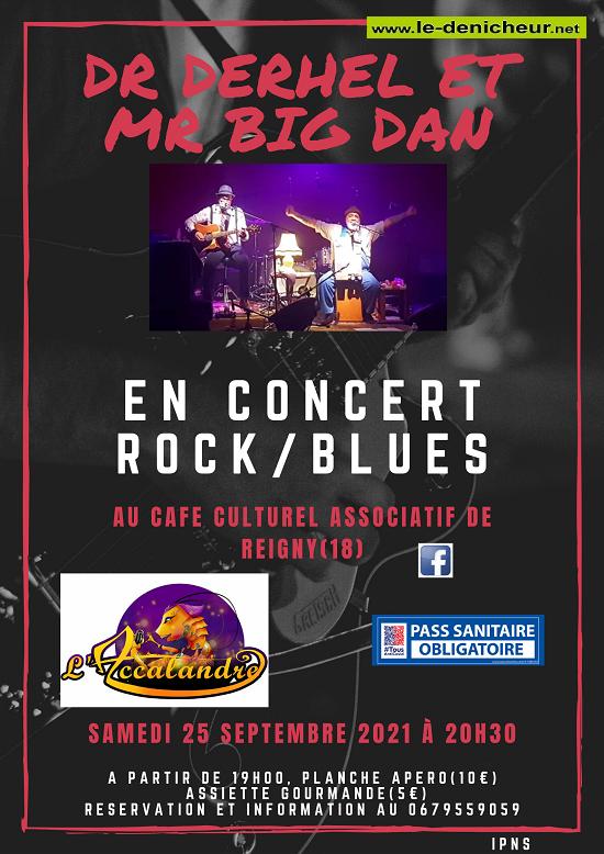 u25 - SAM 25 septembre - REIGNY - Dr Derhel et Mr Big Dan en concert  09-25_11