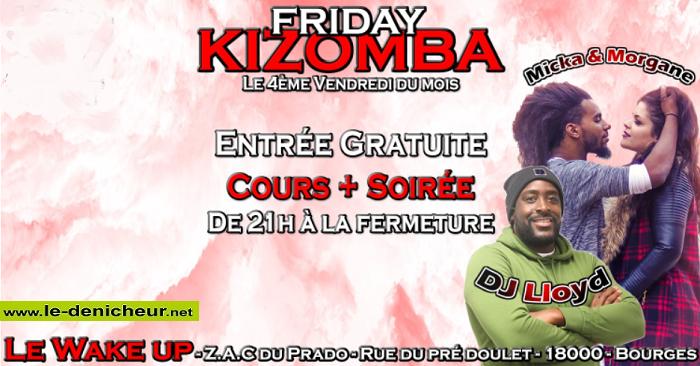 w22 - VEN 22 novembre - BOURGES - Friday Kizomba */ 09-27_12