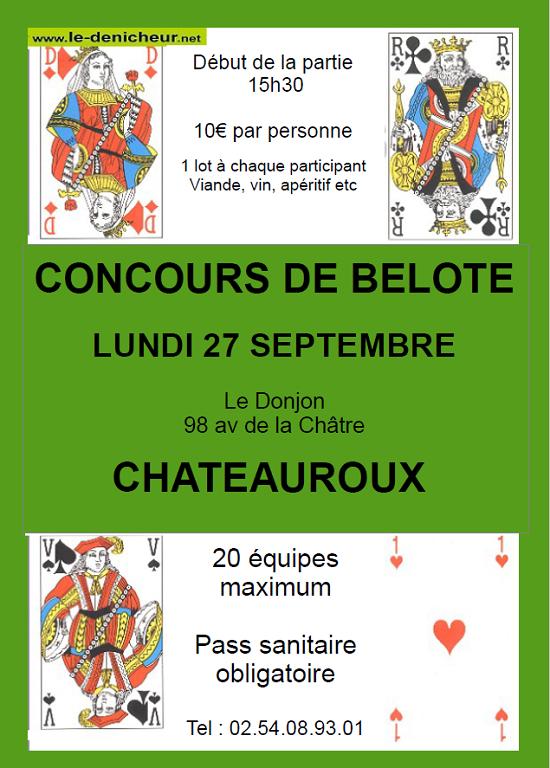 u27 - LUN 27 septembre - CHATEAUROUX - Concours de belote */ 09-27_17
