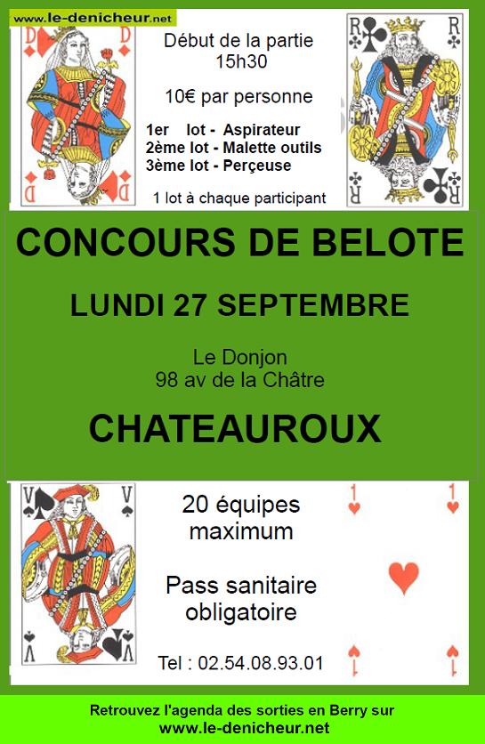 w29 - LUN 29 novembre - CHATEAUROUX - Concours de belote */ 09-27_18