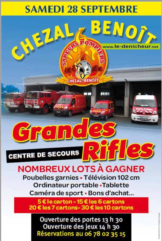u28 - SAM 28 septembre - CHEZAL-BENOIT - Rifles des pompiers */ 09-28_12
