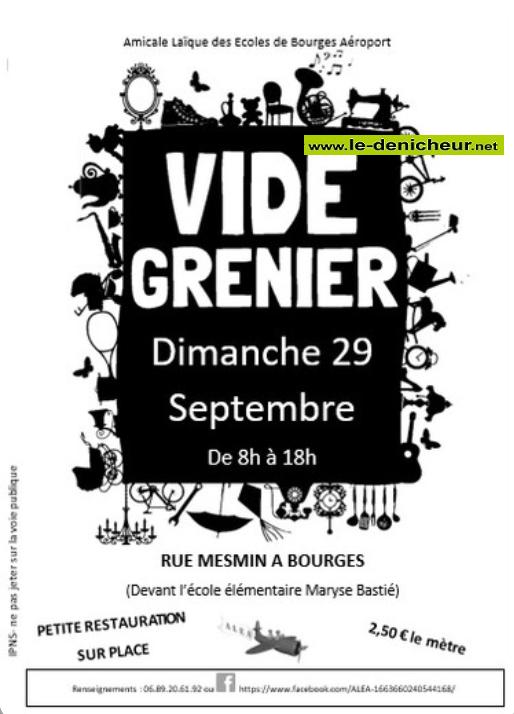 u29 - DIM 29 septembre - BOURGES - Vide grenier * 09-29_26