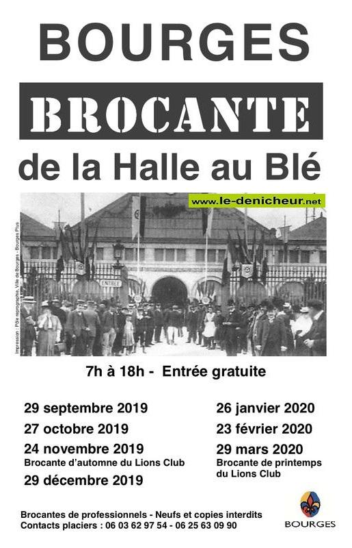 zc29 - DIM 29 mars - BOURGES - Brocante de la Halle au Blé * 09-29_36
