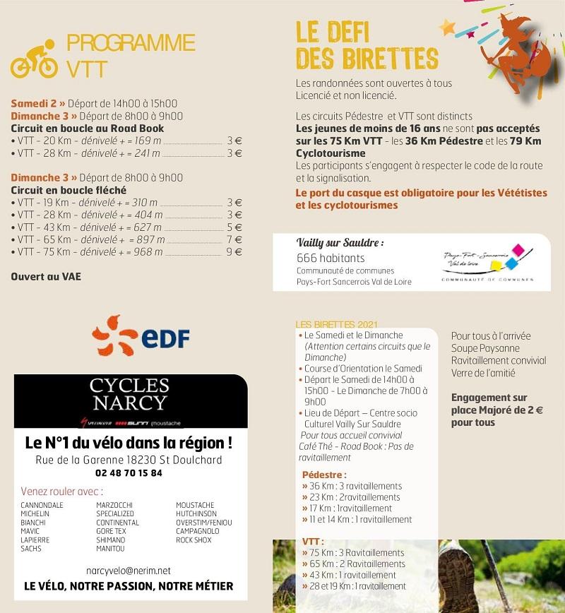 v02 - Les 2 et 3 octobre - VAILLY - Le Défi des Birettes (randos pédestre et VTT) 10-02_15