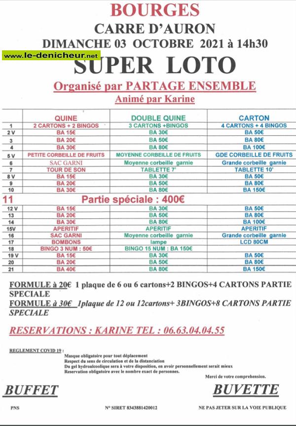 v03 - DIM 03 octobre - BOURGES - Loto de Partage Ensemble */ 10-03_14