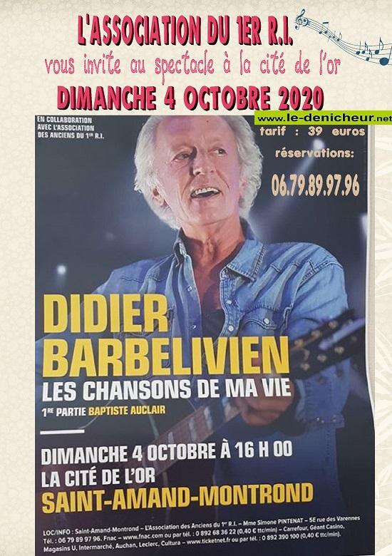 j04 - DIM 04 octobre - ST-AMAND-MONTROND - Didier Barbelivien en concert */ 10-04_19