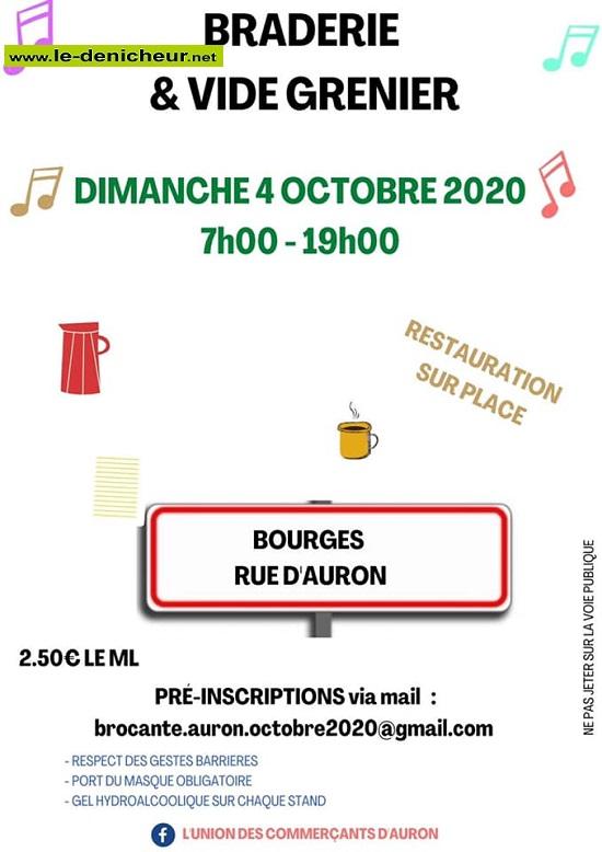 j04 - DIM 04 octobre - BOURGES - Vide grenier * 10-04_23