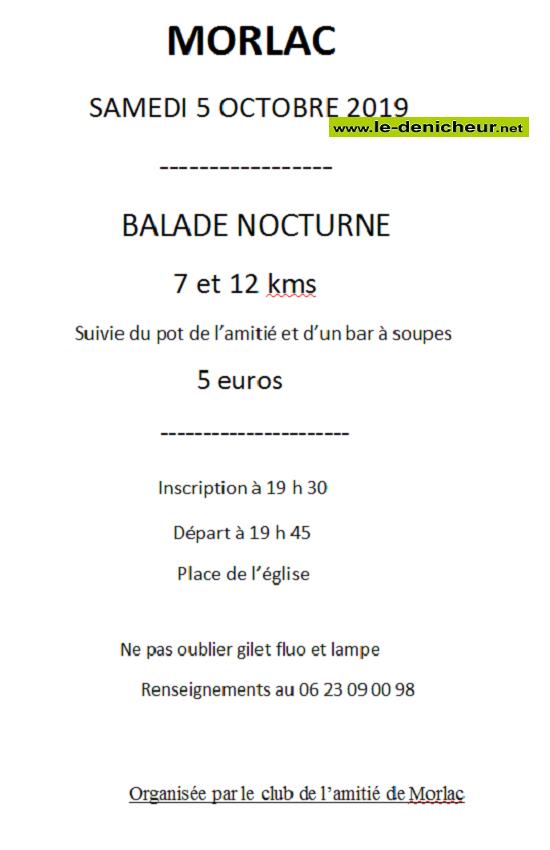 v05 - SAM 05 octobre - MORLAC - Balade nocturne .*/ 10-05_11