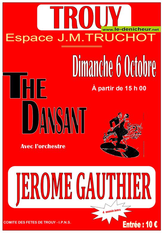 v06 - DIM 06 octobre - TROUY - Thé dansant avec Jérôme Gauthier */ 10-06_24