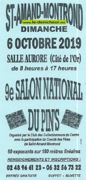 v06 - DIM 06 octobre - ST-AMAND-MONTROND - 9ème Salon National  du Pin's * 10-06_30