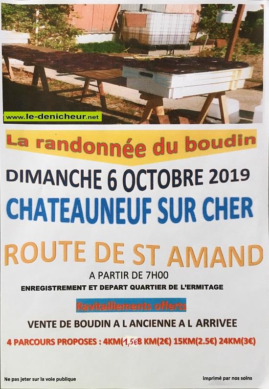 v06 - DIM 06 octobre - CHATEAUNEUF /Cher - Randonnée pédestre */ 10-06_31