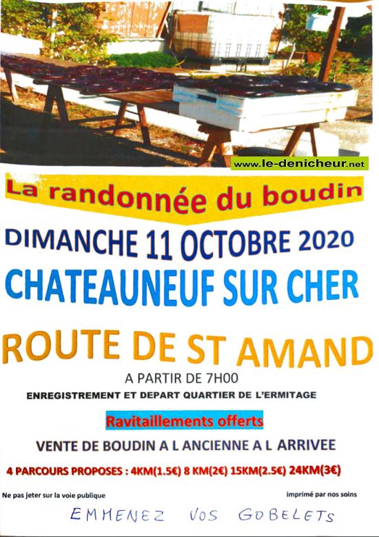 j11 - DIM 11 octobre - CHATEAUNEUF /Cher - Randonnée du boudin annulée*/ 10-11_17