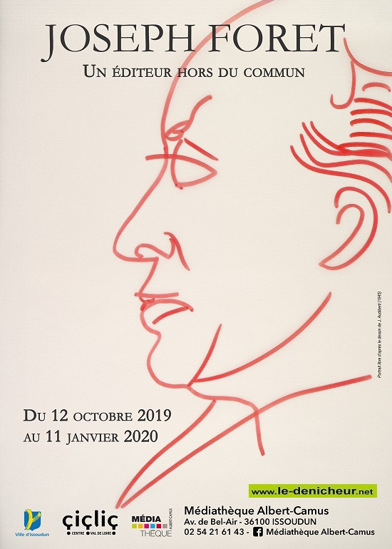 za01 - Jusqu'au 11 janvier - ISSOUDUN - Exposition Joseph Foret */ 10-12_32