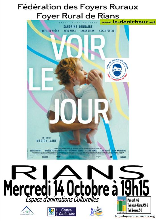 j14 - MER 14 octobre - RIANS - Voir le jour (cinéma) */ 10-14_24