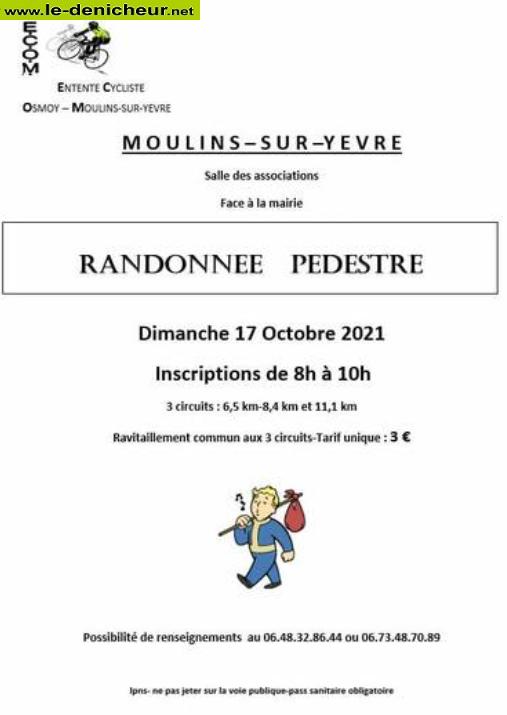 v17 - DIM 17 octobre - MOULINS /Yèvre - Randonnée pédestre */ 10-17_14