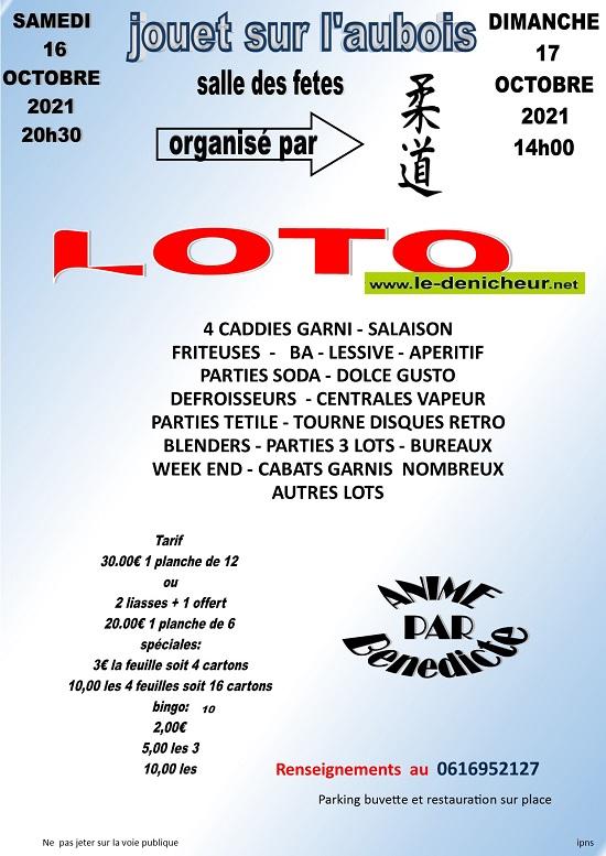 v17 - DIM 17 octobre - JOUET /l'Aubois - Loto du Karaté */ 10-17_19
