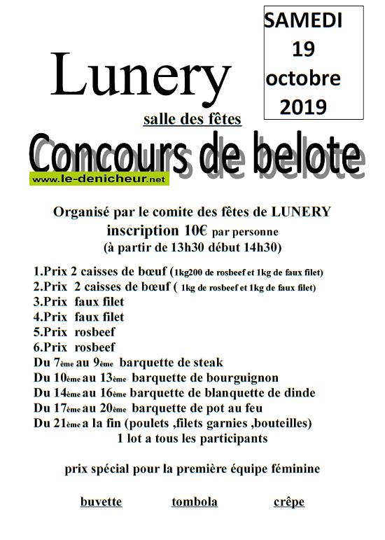 v19 - SAM 19 octobre - LUNERY - Concours de belote */ 10-19_13