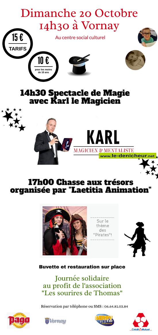 v20 - DIM 20 octobre - VORNAY - Spectacle de magie _* 10-2011