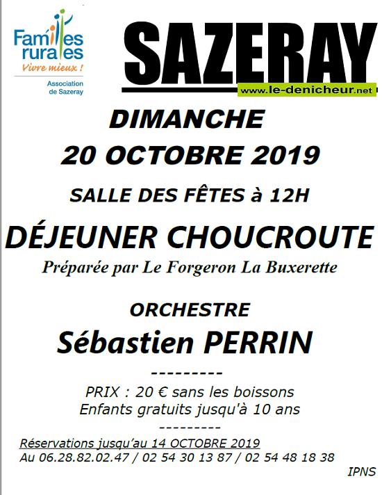 v20 - DIM 20 octobre - SAZERAY - Déjeuner dansant avec Sébastien Perrin */ 10-20_24