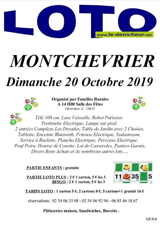v20 - DIM 20 octobre - MONTCHEVRIER - Loto de Familles rurales */ 10-20_25