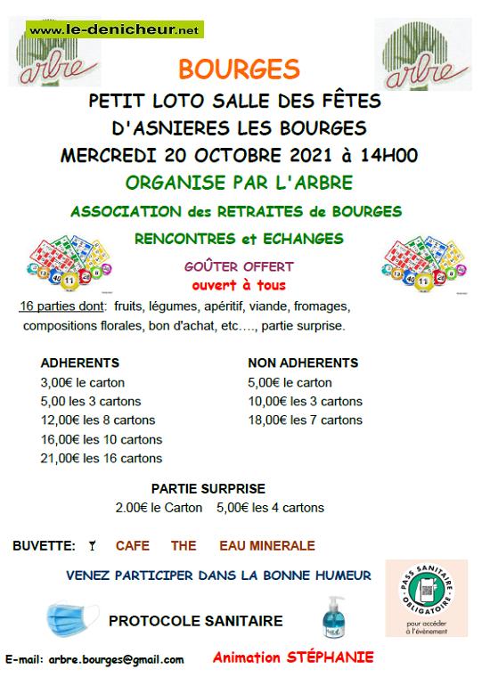 v20 - MER 20 octobre - BOURGES - Loto de l'ARBRE */ 10-20_37