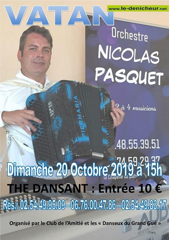 v20 - DIM 20 octobre - VATAN - Thé dansant avec Nicolas Pasquet .*/ 10-20_39