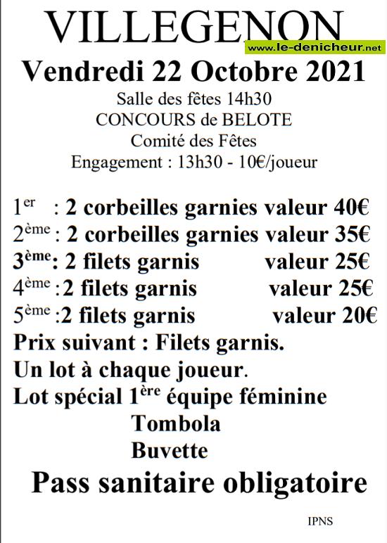 v22 - VEN 22 octobre - VILLEGENON - Concours de belote */ 10-22_13