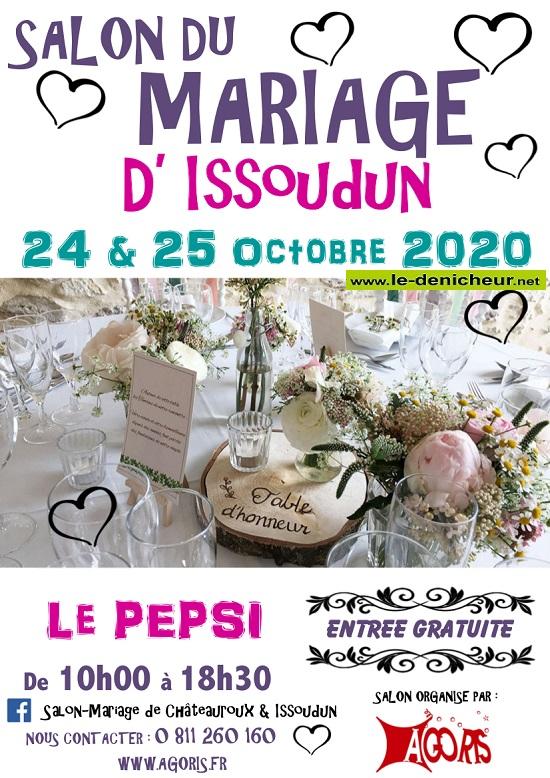 j - Les 24 et 25 octobre - ISSOUDUN - Salon du Mariage */ 10-24_16