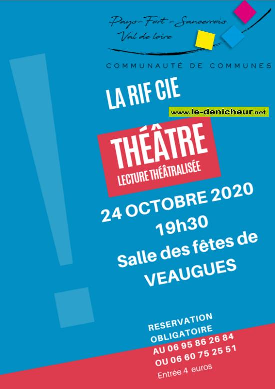 """j24 - SAM 24 octobre - VEAUGUES - Lecture théâtralisée """"Annulé"""" 10-24_16"""