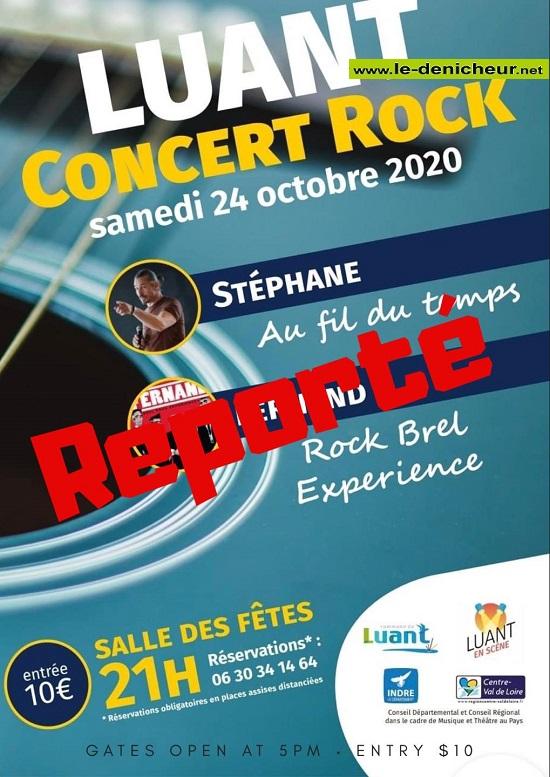 j24 - SAM 24 octobre - LUANT -  Concert reporté*/ 10-24_21