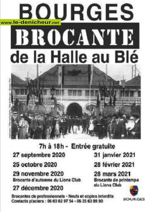 l27 - DIM 27 décembre - BOURGES - Brocante de la Halle au Blé * 10-25_13