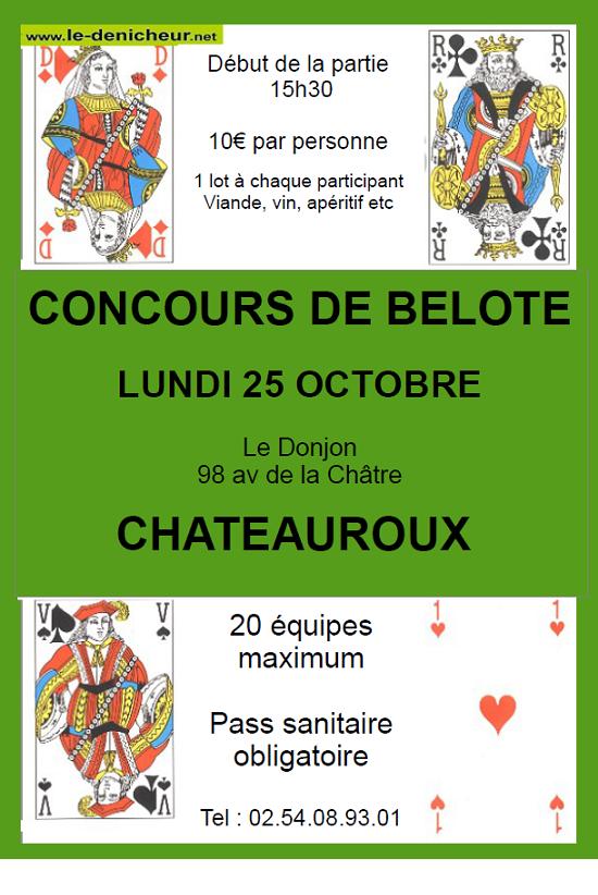 v25 - LUN 25 octobre - CHATEAUROUX - Concours de belote */ 10-25_14