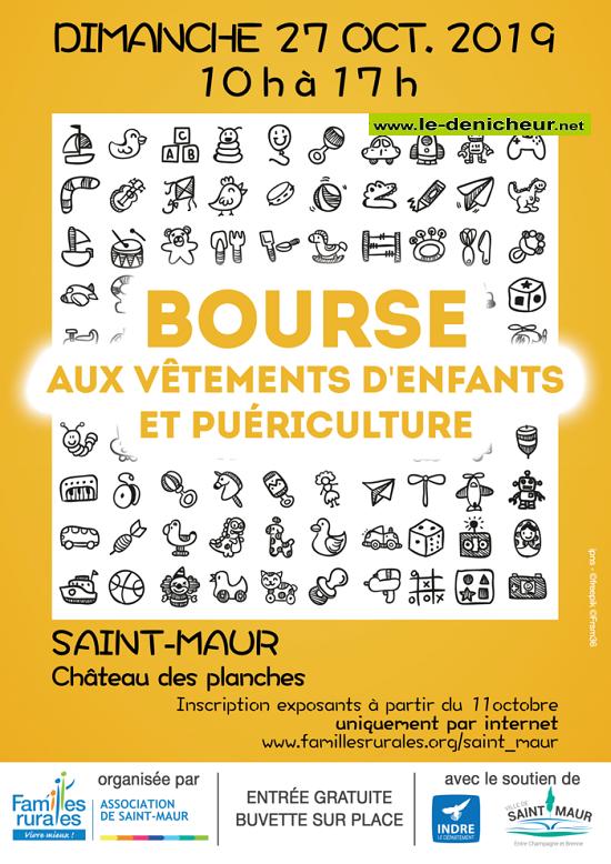 v27 - DIM 27 octobre - ST-MAUR - Bourse aux vêtements enfant et puériculture * 10-27_16