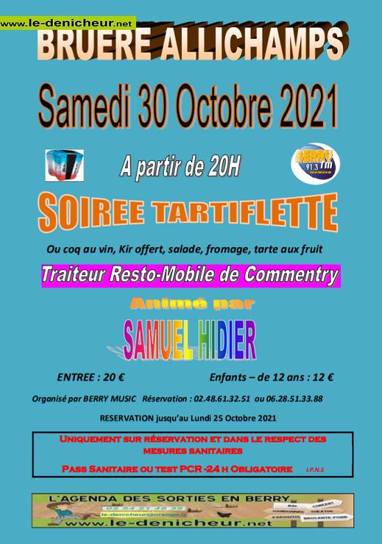 v30 - SAM 30 octobre - BRUERE-ALLICHAMPS - Dîner dansant avec Ludovic Bouet */ 10-30_12