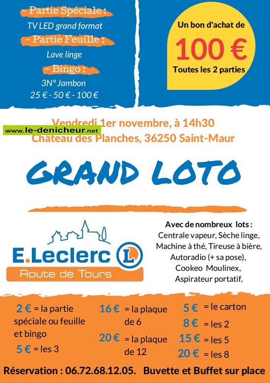 w01 - VEN 01 novembre - ST-MAUR - Loto du CE Leclerc */ 11-01_14
