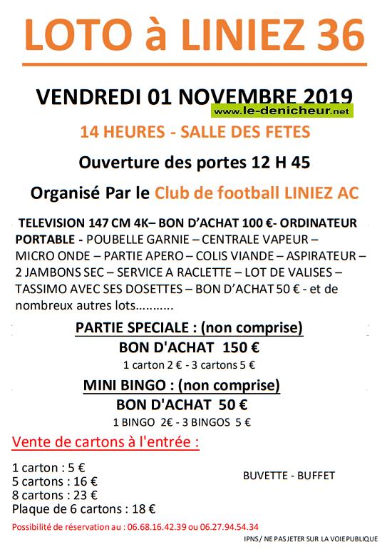 w01 - VEN 01 novembre - LINIEZ - Loto du foot */ 11-01_17